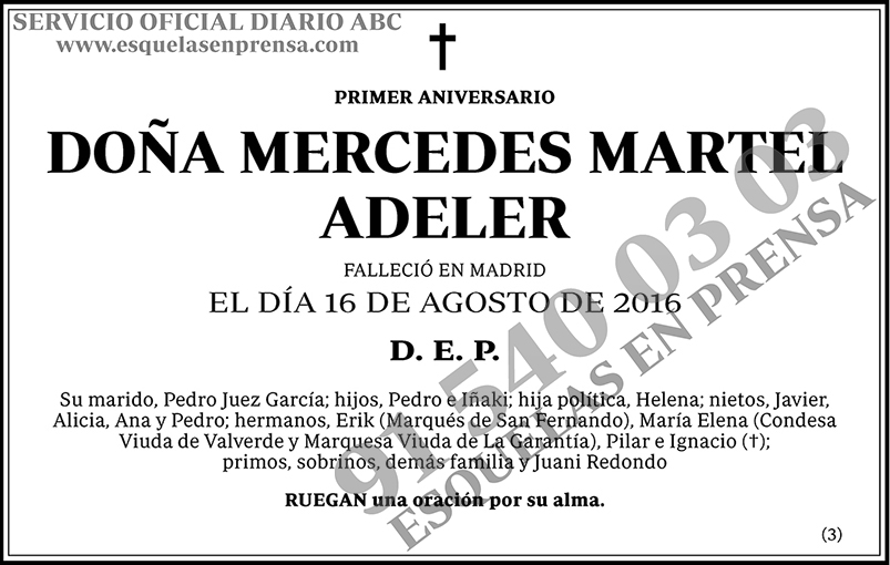 Mercedes Martel Adeler